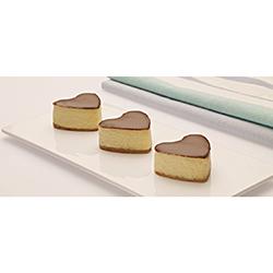 Kalpli Çikolatalı Cheesecake